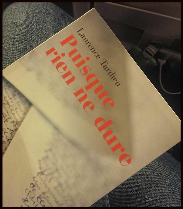 Instants littéraires - Puisque rien ne dure